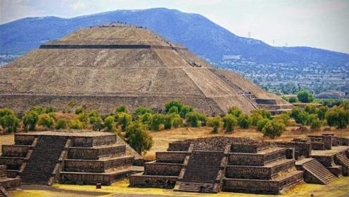 巨人族被灭绝最后时刻的遗迹——墨西哥的世界最大金字塔