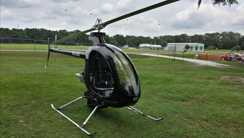 世界上迷你的直升机,轻便速度还快,网友:早知道就不买车了