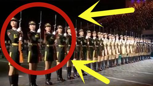 """中国仪仗队女兵,巾帼不让须眉!最强女团""""C位出道""""!"""