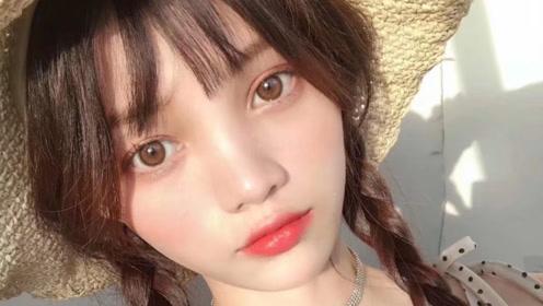 20岁姑娘做瞳模月入5万:天生褐瞳,一天拍18副美瞳