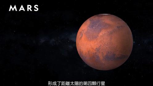3分钟详解八大行星里的类地行星火星