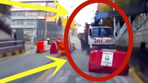 工程车突然失控,老司机教科书式倒车,网友:教练有他厉害吗?