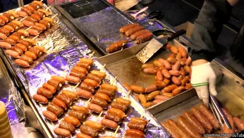 夜市生意最好的小吃摊,老板肯定是个热爱生活的人,食物好有创意