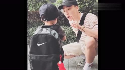 看奶爸如何忽悠不去上学的熊孩子,这招真是太好用了,不服不行!