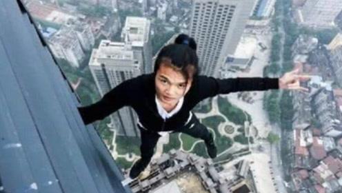 中国极限挑战第一人,生前坠亡最后画面,看到心慌不已!