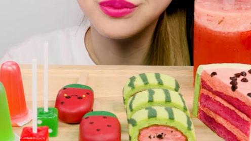 创意的西瓜美食,味道与颜值并存,你喜欢哪种呢?