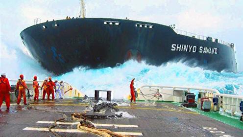 世界上最大的4艘船,第2个比航空母舰还要重4倍,堪称海上巨兽