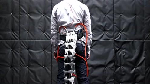 人类重新装回尾巴?日本科学家研发机械尾巴,可帮老年人保持平衡