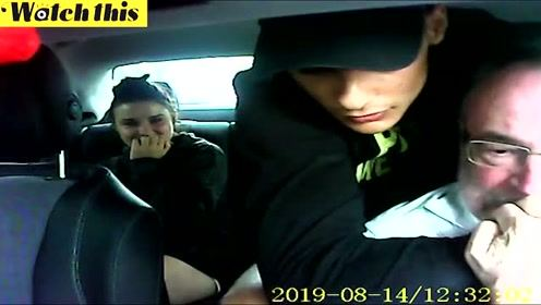 情侣持刀抢劫 没想到老司机藏了相机 2小时被网友人肉搜索逮捕