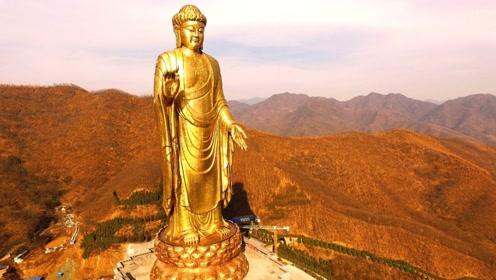 世界最高雕像,耗费10年建造完成,就在中国!你见过吗?