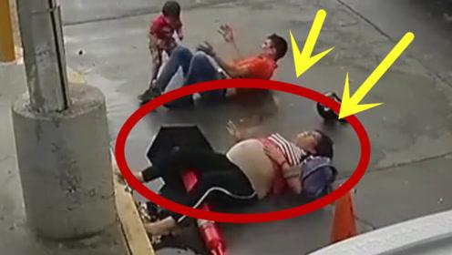 带着怀胎八月的妻子,闯红灯依旧凶猛无比,下一秒哭都来不及!