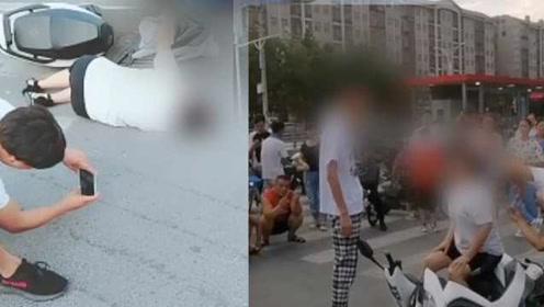处罚来了!开兰博基尼假造事故造成严重拥堵,3人被拘5日