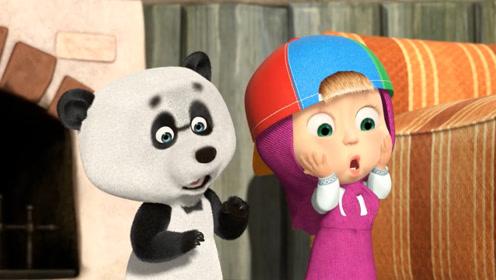 小熊买了新的电视机,却被孩子们摔坏了,最后还是被小熊发现了!