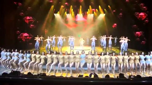电视剧里夜上海的代表性舞蹈,这腿不蹬三轮可惜了