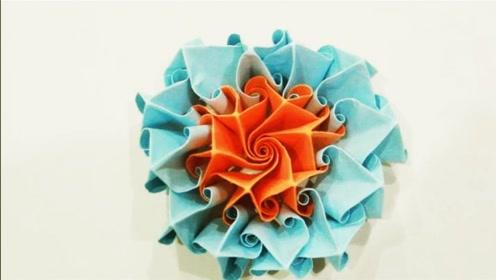 儿童手工制作 创意折纸大全 漂亮花朵折纸