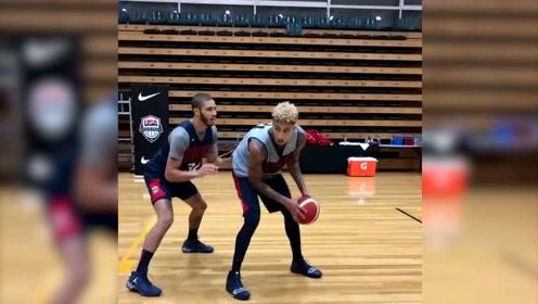 塔图姆库兹马布朗轮流单挑  这可是NBA的未来啊