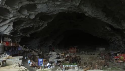 贵州深山发现一大山洞,洞中住着18户人家,过着神仙般的生活