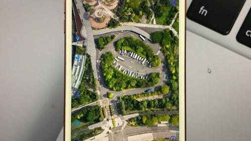 手机地图别光顾着导航用,打开地图,就连你家的屋顶都能清楚!