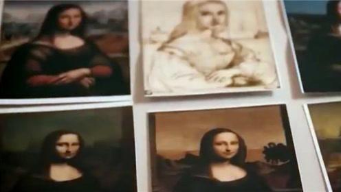 蒙娜丽莎画像很珍贵,但放大40倍后,发现还有一个人的存在