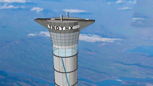 """加拿大要建""""通天梯"""",高达2万米,落成后太空飞行就像坐客机"""