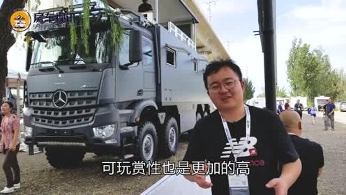 北京房车展,我最中意的还是铂驰旅行家系列C型单拓展房车
