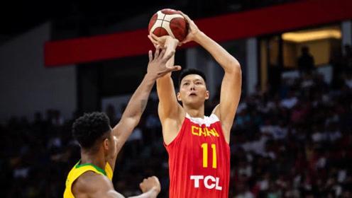 中国VS巴西热身赛对抗赛G2十佳球 阿联暴扣费利西奥钉板大帽