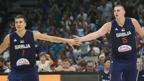 塞尔维亚VS新西兰十佳球 约基奇人缝中妙传博班单臂隔扣