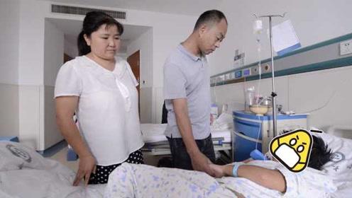 民工父亲首次坐飞机:失明女儿重病,想早点见到她