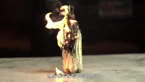 """国外小哥神奇的""""火柴瓶""""实验!结果还挺好看的,就是有点浪费!"""