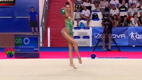 日本美女体操,没想到还能穿这个,裁判眼睛都直了