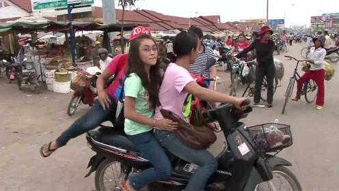 中国小伙来到柬埔寨,拍摄柬埔寨人的生活,看看他们都在忙什么?