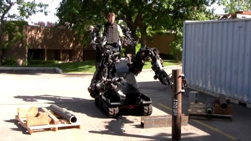 就像科幻电影中一样,可以感应人体动作的机械臂,已经变成了现实