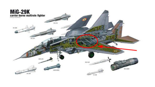 最大速度超2马赫,挂载10枚导弹,升级版米格29仍不如歼15
