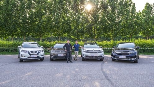四款合资紧凑型SUV横评 非铺装路/底盘对比篇