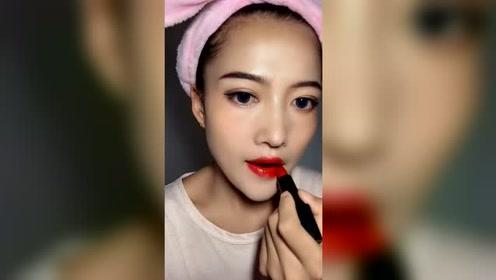 时尚化妆教程:为什么说口红是一个妆容的灵魂?我终于知道了!