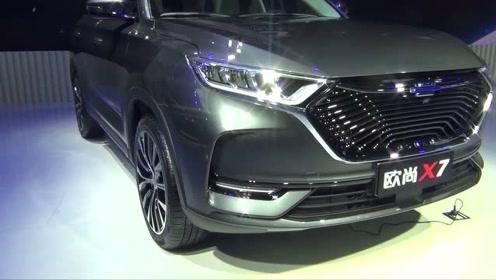长安欧尚X7首发亮相,提供燃油版,混动版,EV版三种动力版本