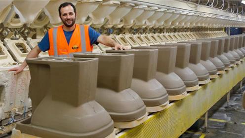 """世界最大的马桶制造商:一天可造上万个,每天用""""屎""""检测马桶!"""