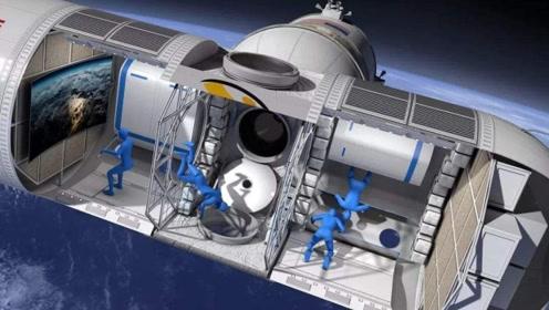 专家提出大胆想法,预计2025年建造太空旅馆,外形酷似摩天轮
