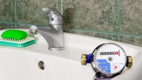 水龙头滴水,水表到底走不走,幸好水表师傅提醒,不然吃大亏