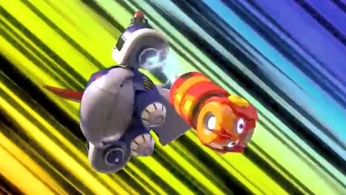 爆笑虫子:小黄小红成机器人的配件,好酷啊