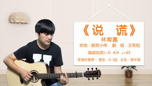 林宥嘉《说谎》酷音小伟吉他弹唱教学吉他自学教程