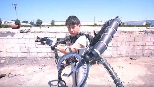 """13岁初中生发明""""变身器"""",顶尖科技惊动美军,耗资三千万求购"""