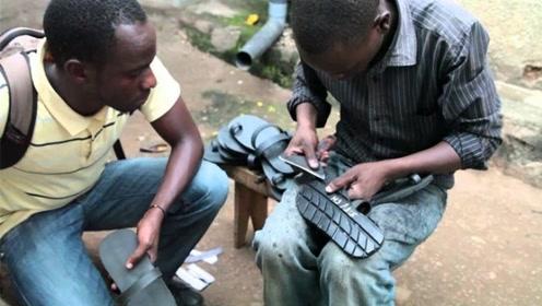 为何非洲大量收购废旧轮胎,了解真相后令人心酸!