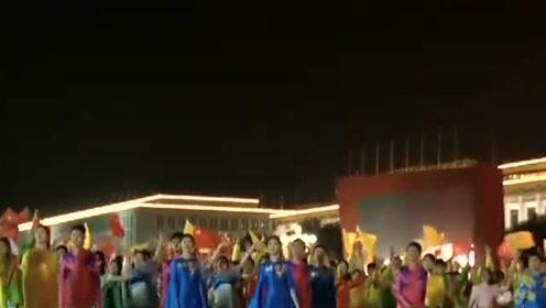 国庆70周年庆祝活动第二次全流程、全要素、部分力量演练