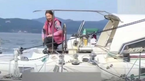 英国77岁奶奶创环球航行新记录:独自一人历时320天