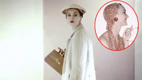 老照片四五十年代的时装模特,告诉你什么叫时尚