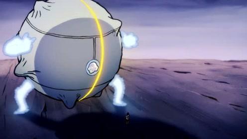 对手的秘密武器,机器人的模式!对于觉醒后的阿七来说,小菜一碟