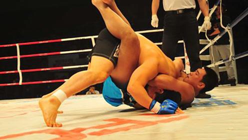 中国拳手险后还生,惊天逆转强势终结韩国拳手!