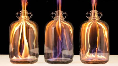 外国小伙用火做实验,看完后网友:从来没觉得火这么好看过!