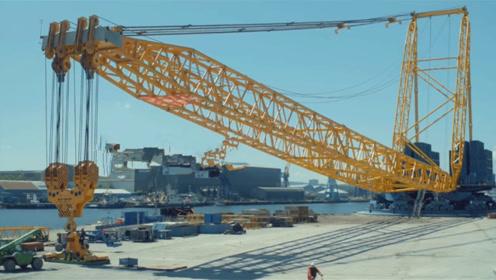 世界最长的挖掘机,相当于21层建筑物高度,想拆啥就拆啥